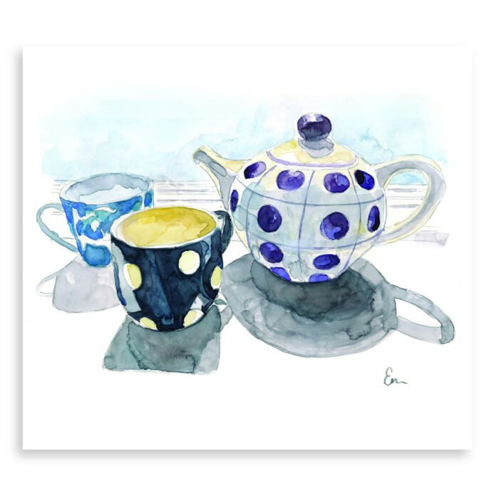 Tea For Two - print - Emily Moncuit