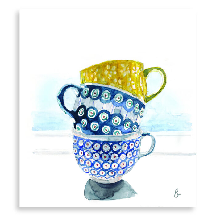 The Cup Runneth Over - print - Emily Moncuit