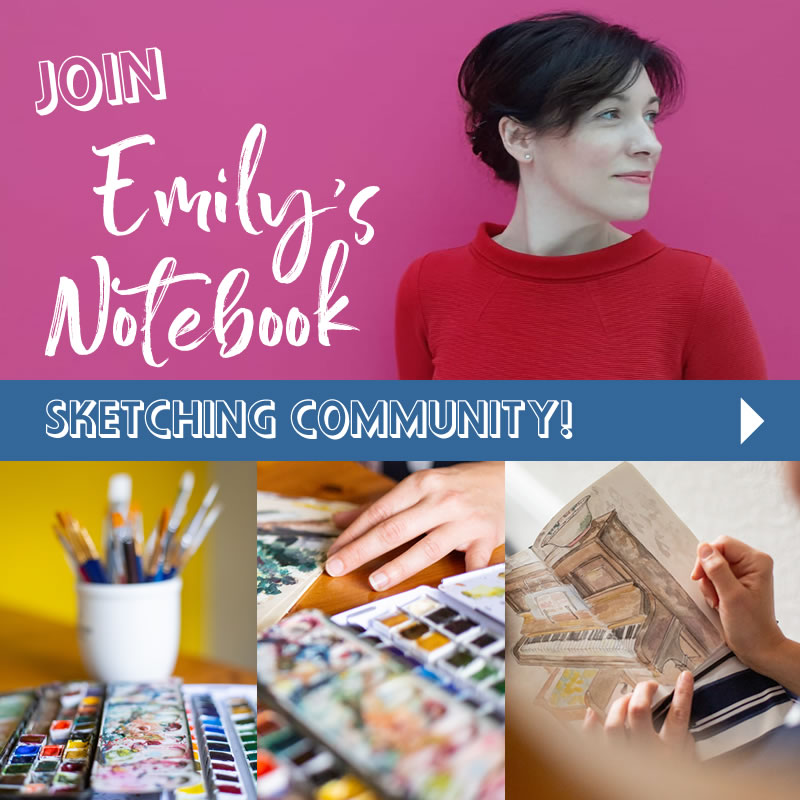 Join Emily's Sketching Community