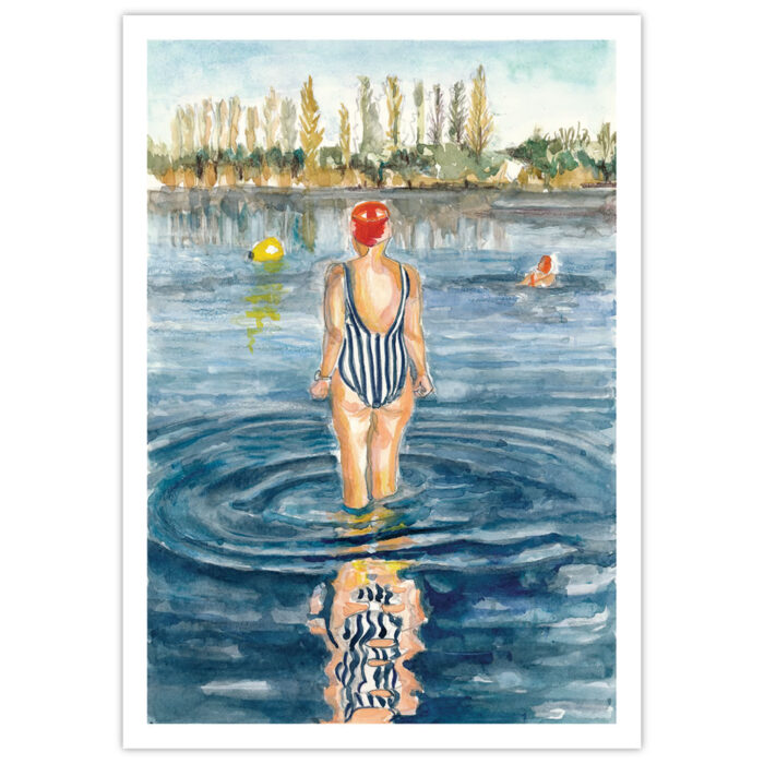 swim your swim greeting cards
