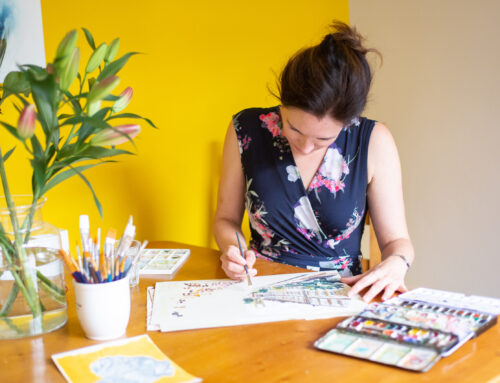 How to apply a daily Sketchbook Habit and get more PRODUCTIVE in life!