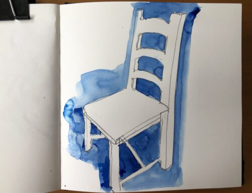 3 Reasons why Negative Space in your sketchbook is actually Positive!