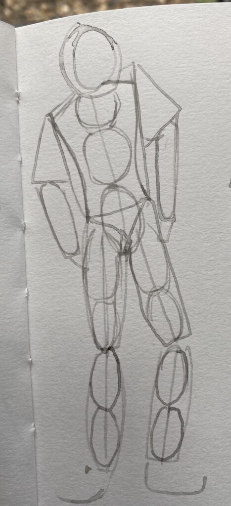 Basic Proportions How to draw a human figure