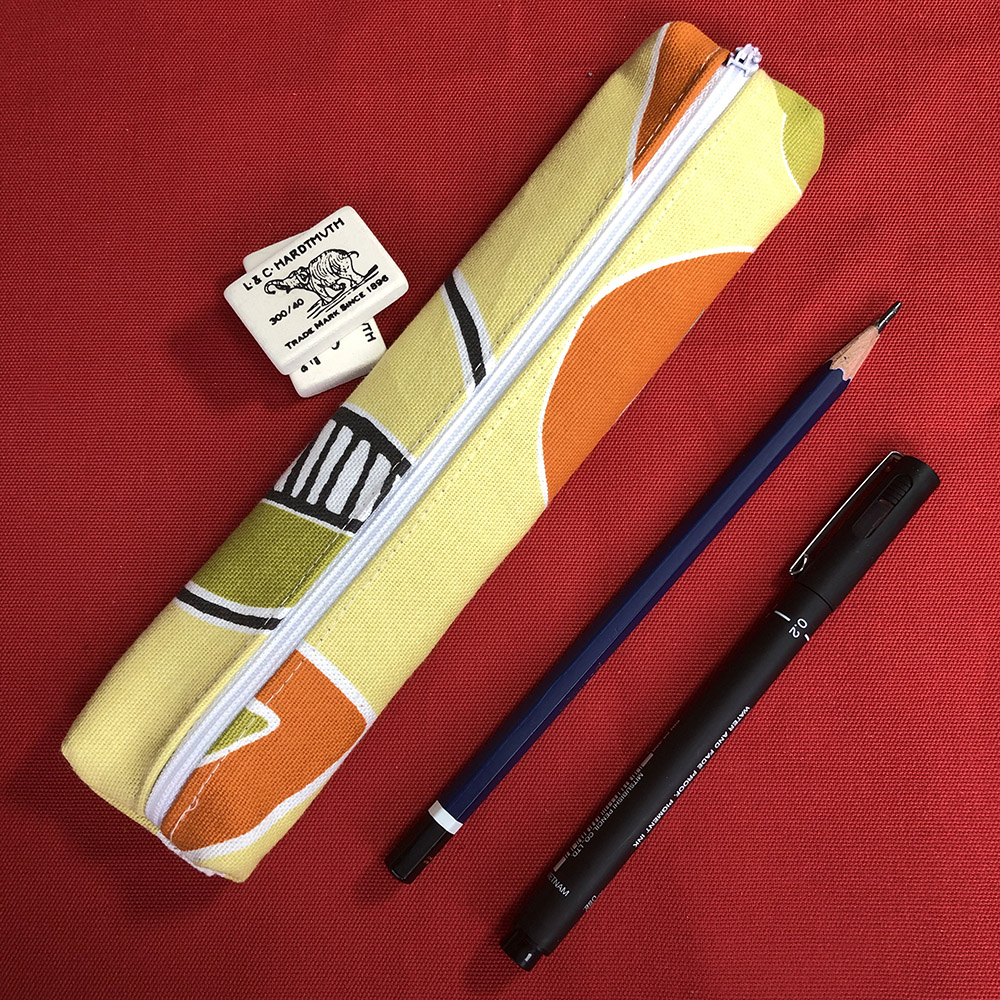 sketch from scratch pencil case