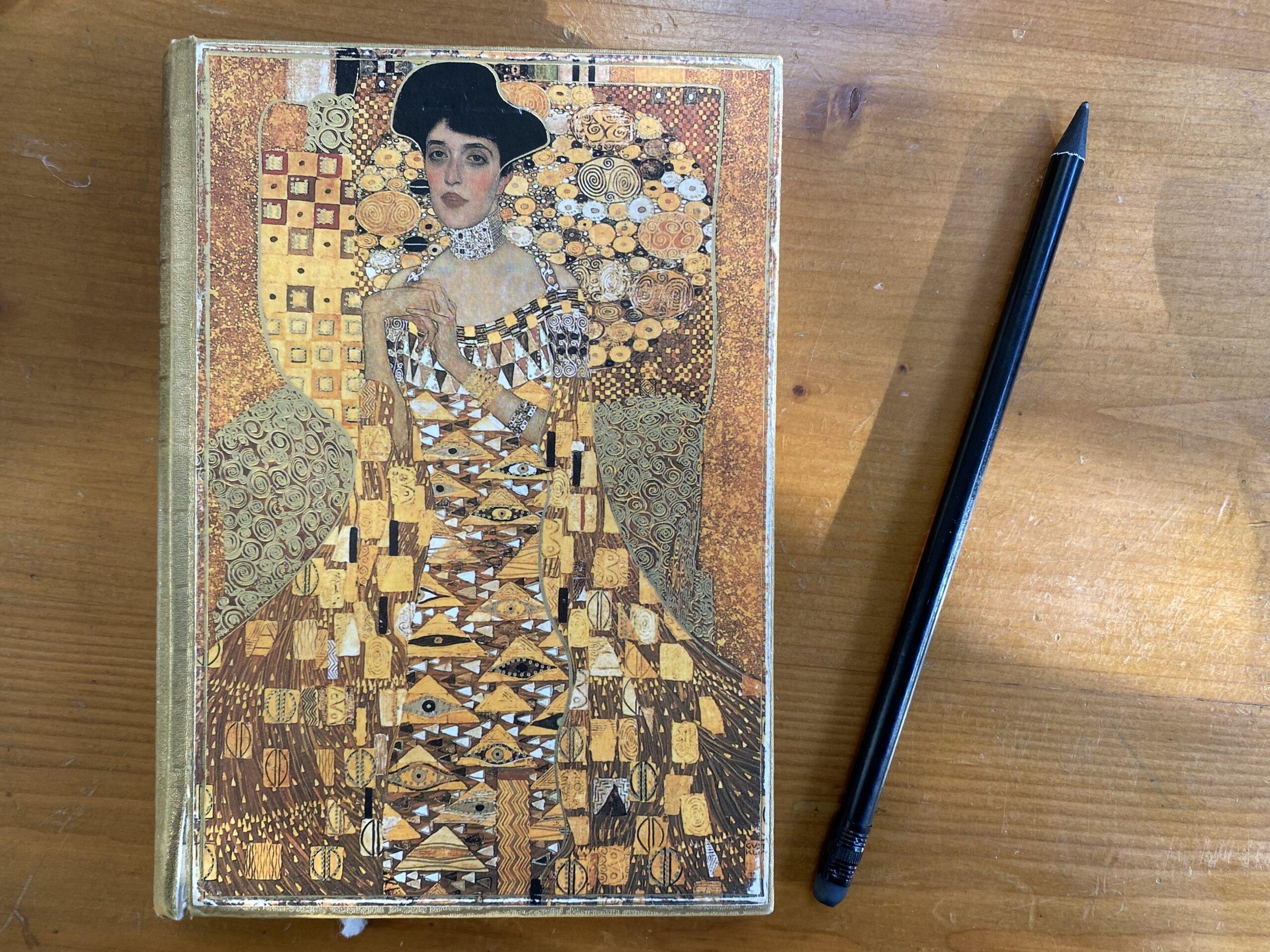 Painting of Gustav Klimt. Portrait of Adele Bloch Bauer